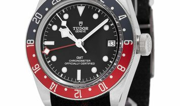 Tudor Black Bay GMT 79830RB, Baton, 2019, Very Good, Case material Steel, Bracelet mate