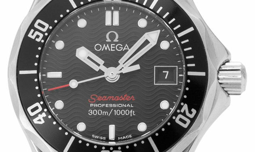 Omega Seamaster Diver 300 M Quartz 212.30.28.61.01.001, Baton, 2014, Good, Case materia