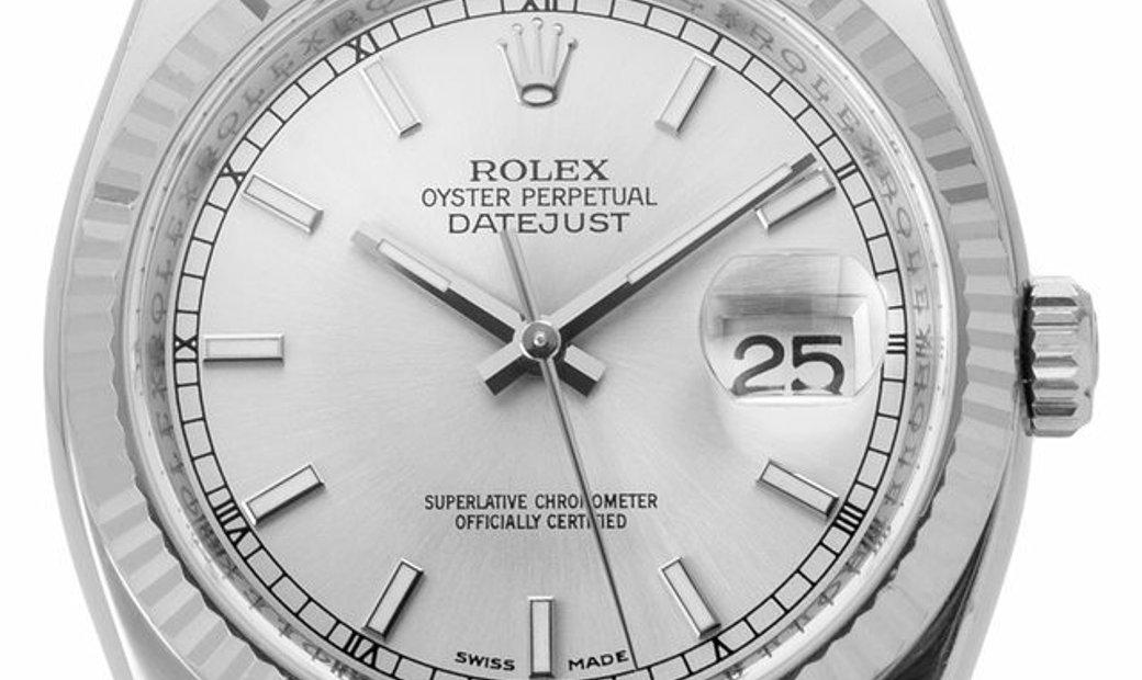 Rolex Datejust 116234, Baton, 2007, Good, Case material Steel, Bracelet material: Steel