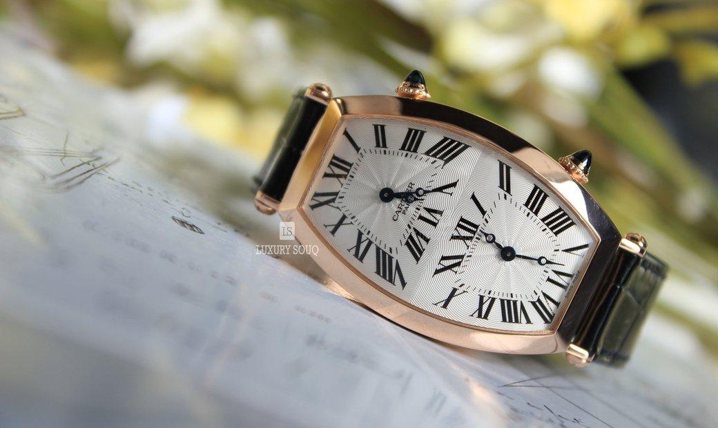 Cartier TONNEAU XL TWO TIME ZONE W1547851