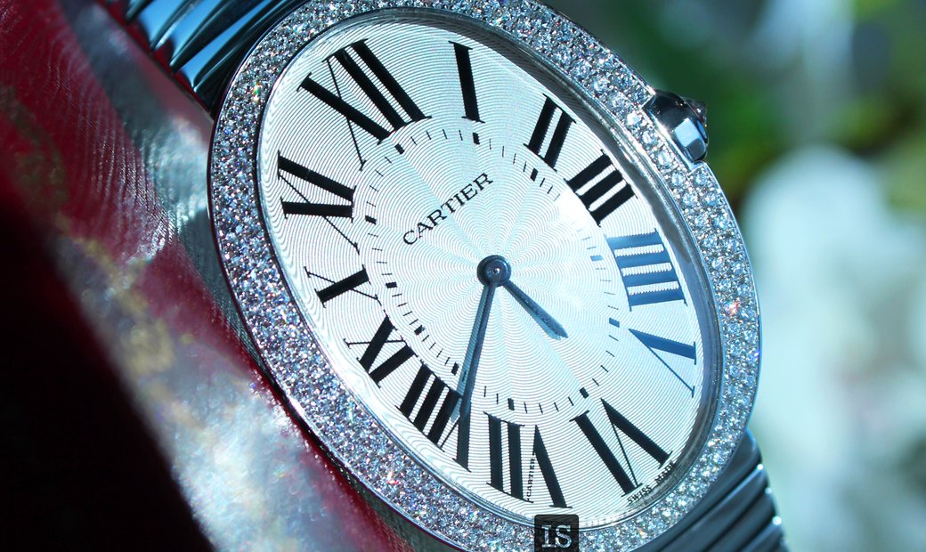 Cartier Baignoire Silver Dial 18kt WB520010