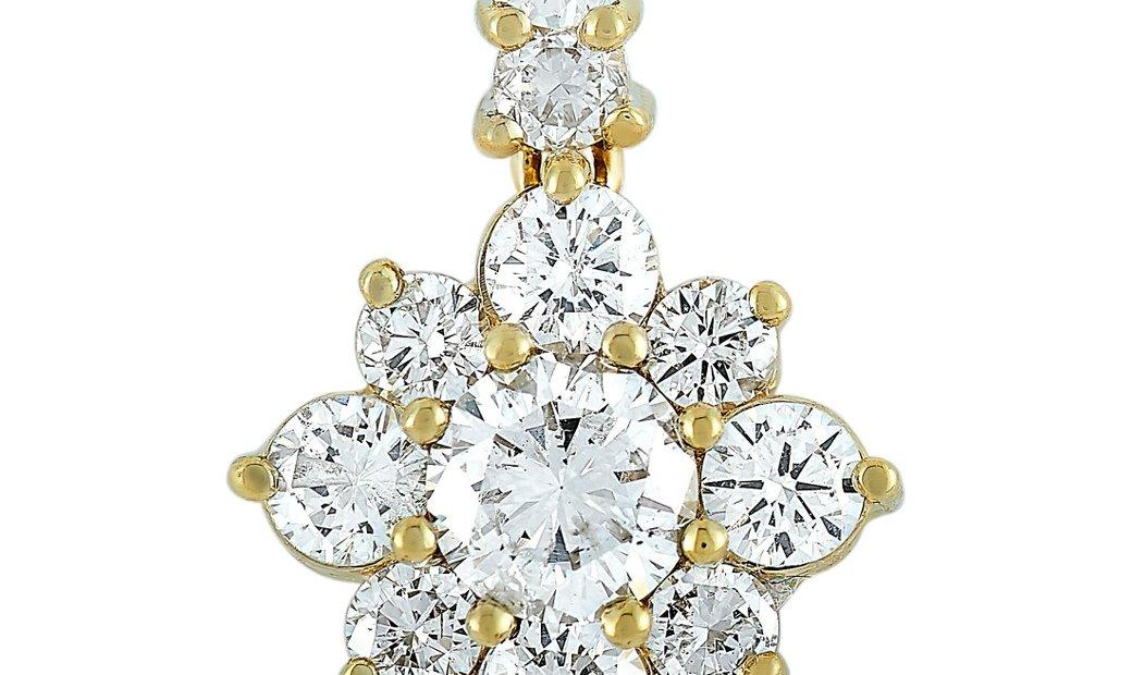 LB Exclusive LB Exclusive 18K Yellow Gold 1.23 ct Diamond Pendant