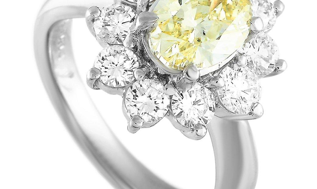 LB Exclusive LB Exclusive Platinum 2.91 ct Diamond Ring