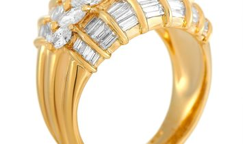 LB Exclusive LB Exclusive 18K Yellow Gold 3.27 ct Diamond Ring