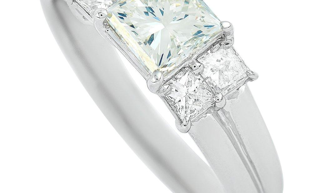 LB Exclusive LB Exclusive Platinum 1.44 ct Diamond Ring