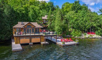 House in Rosseau, Ontario, Canada