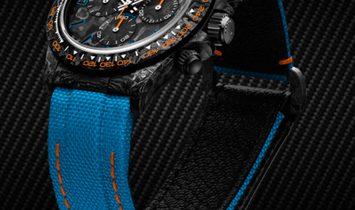 """Rolex DiW [LIMITED 3 PIECE] NTPT Carbon Daytona """"ALL CARBON TROPICAL"""" (Retail:US$52,990)"""