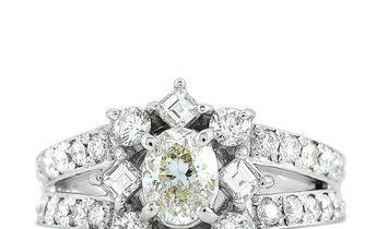 LB Exclusive LB Exclusive Platinum 1.71 ct Diamond Ring