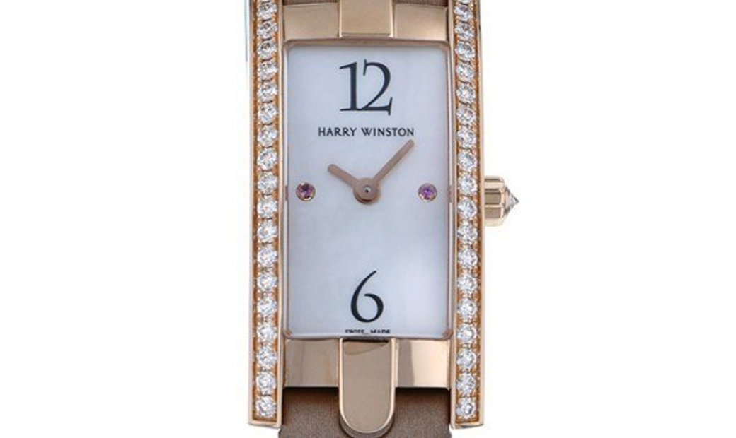 Harry Winston Avenue C Mini Quartz AVCQHM16RR032
