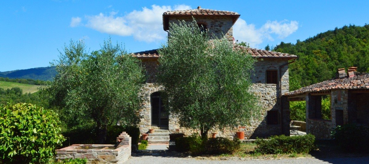 Country House in Gaiole in Chianti, Tuscany, Italy 1