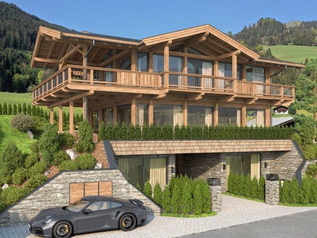 Penthouse in Aurach bei Kitzbühel, Tyrol, Austria 1