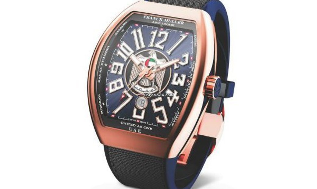 Franck Muller Vanguard Proud to be Emirati V SC DT TT BR UAE NR