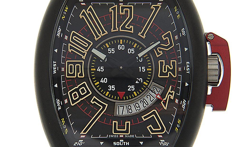 Franck Muller Vanguard Full Black V 45 SC DT LCK TT NR MC BN