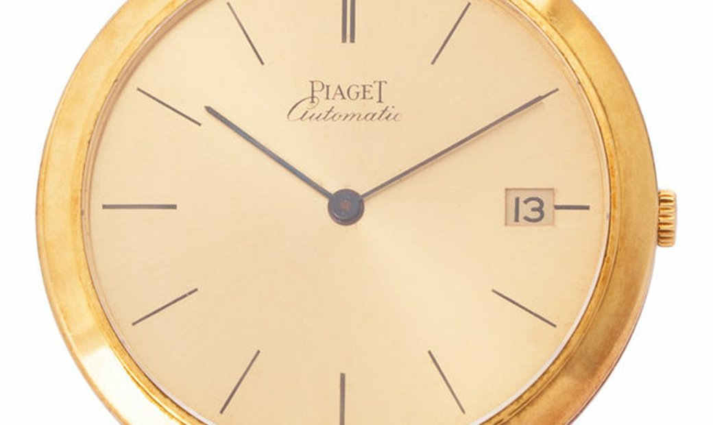 Piaget Vintage 13103, Baton, 1963, Good, Case material Yellow Gold, Bracelet material:
