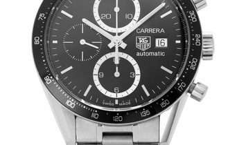 TAG Heuer Carrera CV2010.BA0794, Baton, 2010, Good, Case material Steel, Bracelet mater