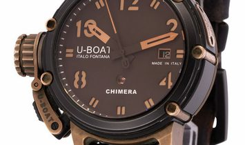 U-Boat Chimera Limited Edition  7237, Baton, 2017, Used, Case material Steel, Bracelet