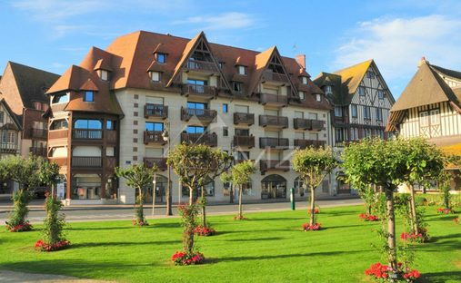 Apartment in Deauville, Normandy, France
