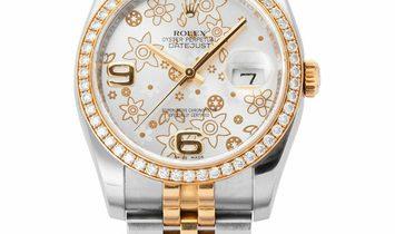 Rolex Datejust 116243, Arabic Numerals, 2013, Very Good, Case material Steel, Bracelet