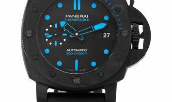 Panerai Submersible Carbotech™ PAM00960, Baton, 2020, Very Good, Case material Carbon,