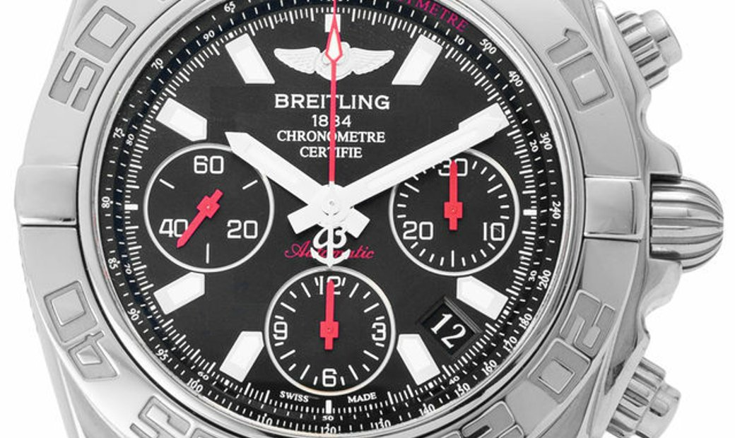 Breitling Chronomat Limited Edition AB0141, Baton, 2005, Very Good, Case material Steel