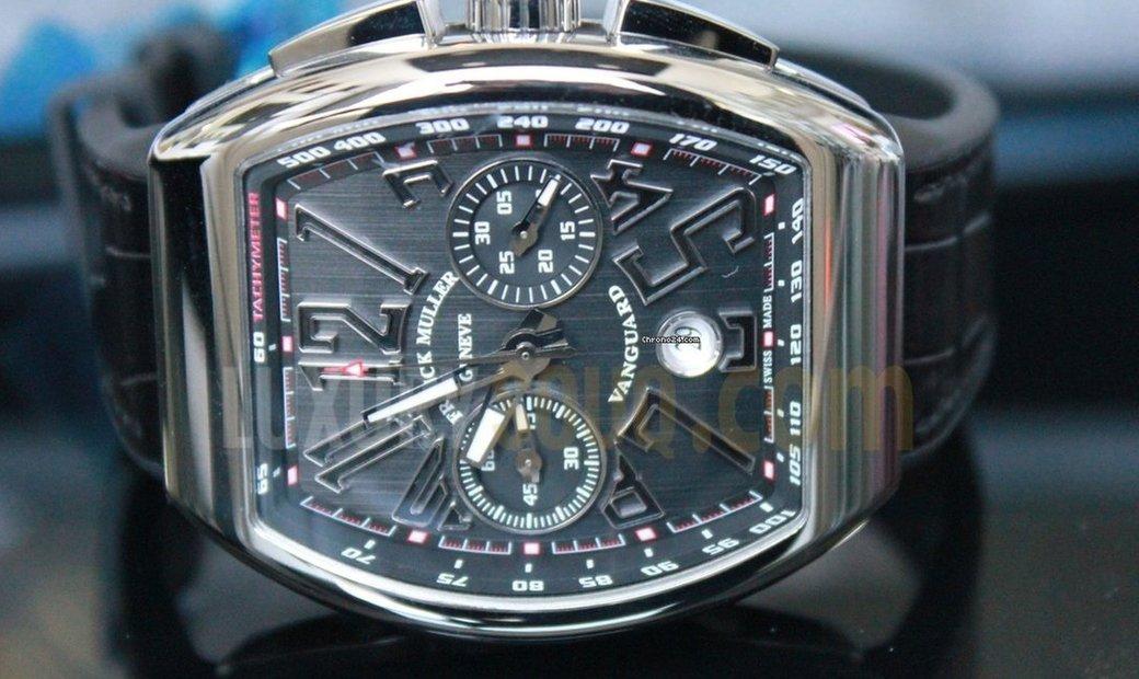 Franck Muller Vanguard Chronograph V45CCDT AC NR