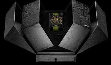 "Rolex DiW [NEW] NTPT Carbon Daytona ""MILITARY GREEN UNIQUE 1"" (Retail:US$59,990)"