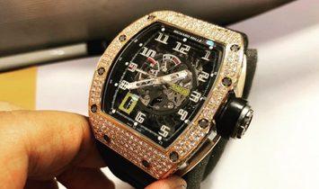 Richard Mille [NEW] RM 030 Rose Gold Diamonds Mens Watch