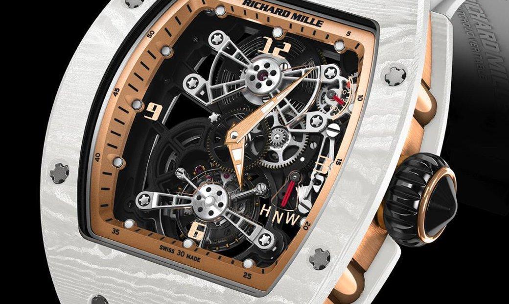 Richard Mille [LIMITED 10 PIECE] RM 17-01 White NTPT Tourbillon Watch