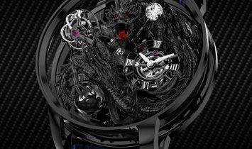 Jacob & Co. 捷克豹 [NEW] Astronomia Meteiers D'Art Black Dragon AT112.31.DR.UA.A (Retail: HK$8,800,000)