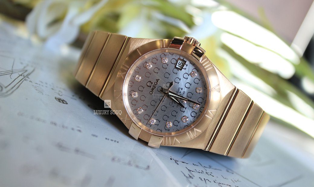 Omega CONSTELLATION CO-AXIAL 123.50.35.20.52.003
