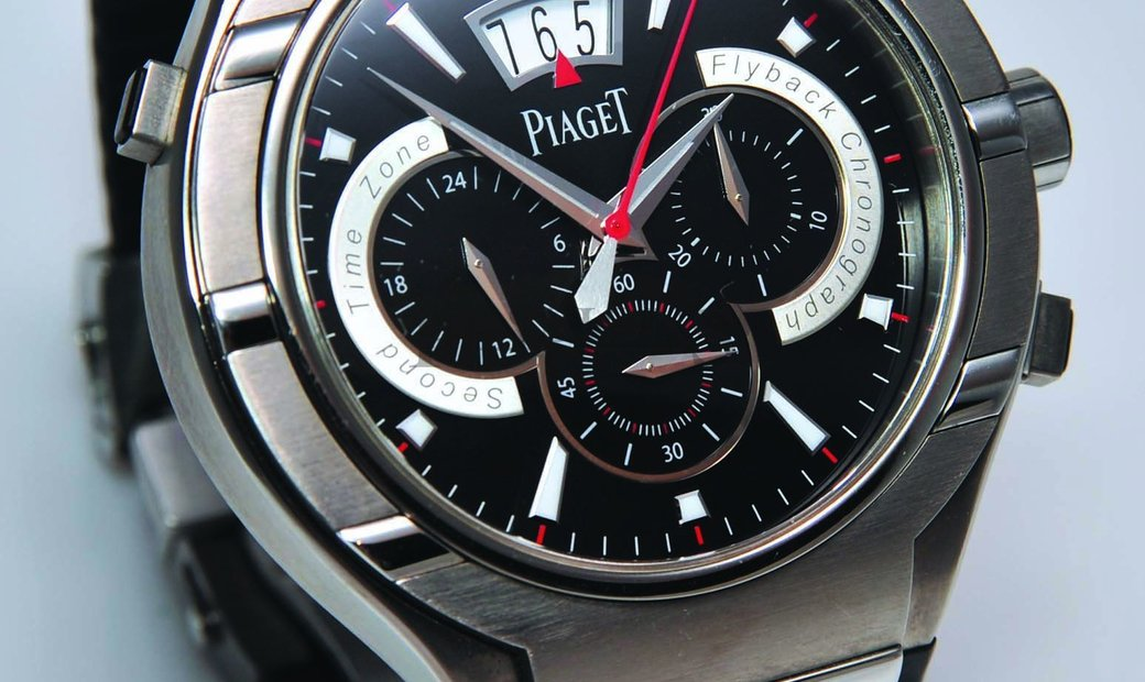 Piaget Polo Forty Five Chronograph 45MM Titanium Case Automa G0A34002