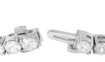 LB Exclusive LB Exclusive 14K White Gold 9.21 ct Diamond Tennis Bracelet