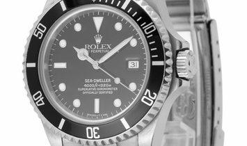 Rolex Sea-Dweller 16600, Baton, 1995, Good, Case material Steel, Bracelet material: Ste