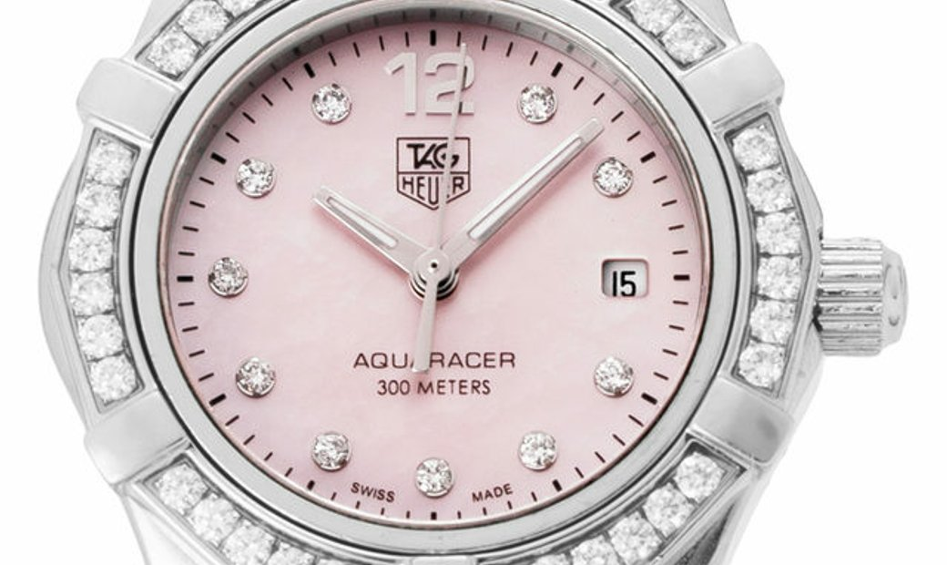 TAG Heuer Aquaracer WAF141B.BA0813, Arabic Numerals, 2013, Good, Case material Steel, B