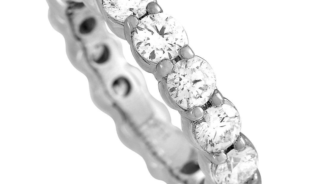 LB Exclusive LB Exclusive 14K White Gold 3.29 ct Diamond Ring