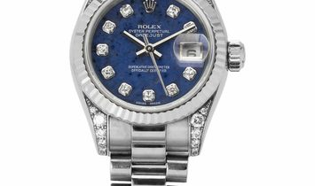 Rolex Lady-Datejust 179239, Diamonds, 2002, Good, Case material White Gold, Bracelet ma