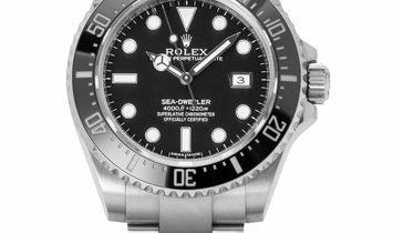 Rolex Sea-Dweller 116600, Baton, 2016, Very Good, Case material Steel, Bracelet materia
