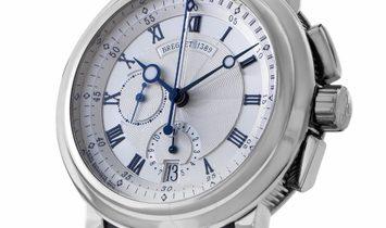 Breguet Marine Chronograph 42mm 18kt White Gold 5827BB/12/5ZU