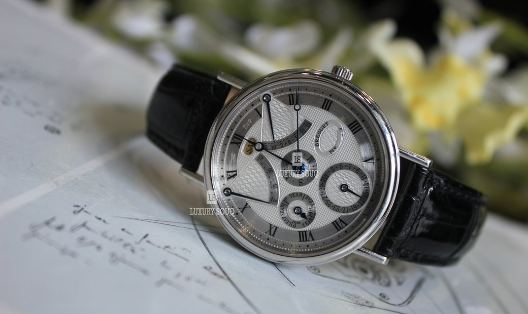 Breguet Perpetual Calendar Equation Of Time 3477PT/LE/986
