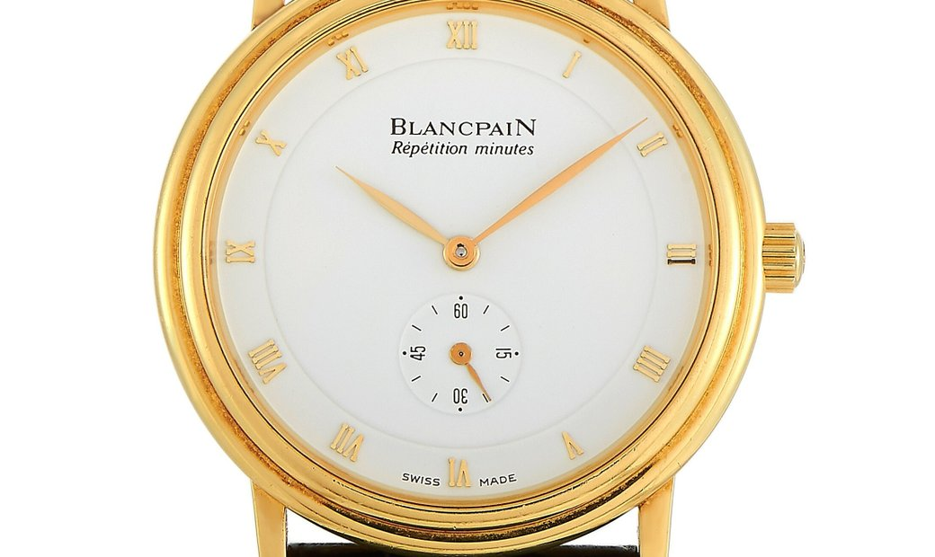 Blancpain Blancpain Repetition Minutes Watch 0033-1418-55