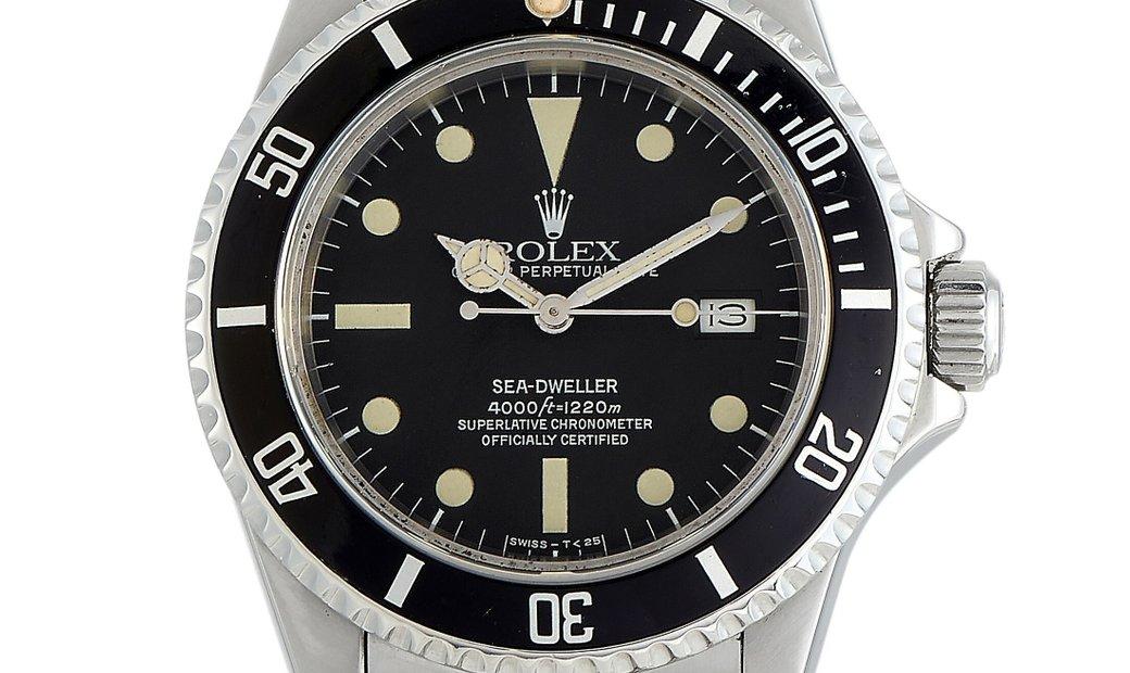 """Rolex Rolex Sea-Dweller """"Triple Six"""" Watch 16660"""