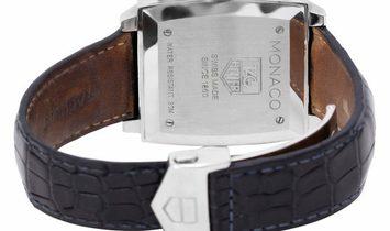 TAG Heuer Monaco CW2113.FC6183, Baton, 2010, Very Good, Case material Steel, Bracelet m