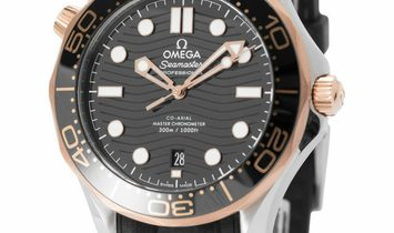 Omega Seamaster 210.22.42.20.01.002, Baton, 2020, Very Good, Case material Steel, Brace