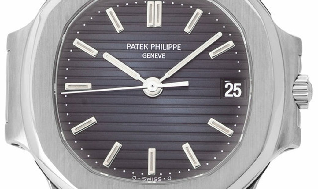 Patek Philippe Nautilus 3800/1A, Baton, 1989, Very Good, Case material Steel, Bracelet