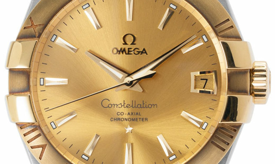 Omega Constellation 123.20.38.21.08.001, Baton, 2012, Very Good, Case material Steel, B