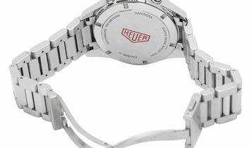TAG Heuer Carrera CV211D.BA0739, Baton, 2018, Very Good, Case material Steel, Bracelet