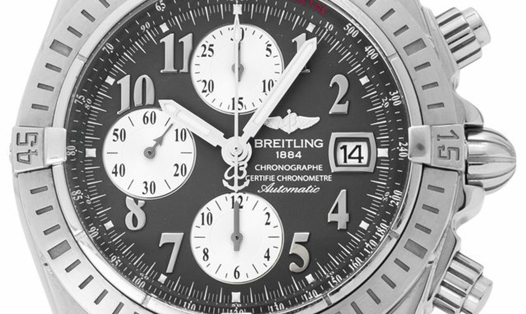Breitling Chronomat Evolution A13356, Arabic Numerals, 2010, Very Good, Case material S