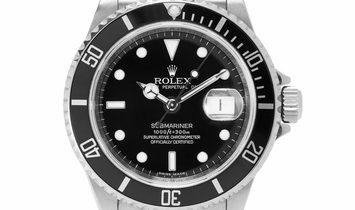 Rolex Submariner 16610, Baton, 2008, Good, Case material Steel, Bracelet material: Stee