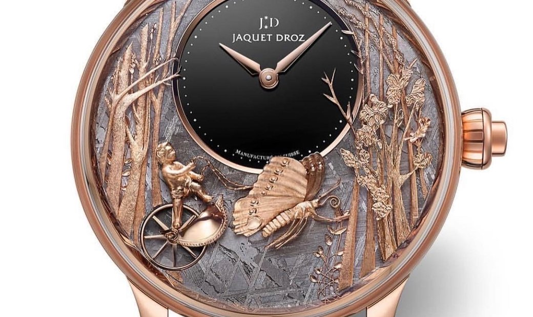 Jaquet Droz [LIMITED 28 PIECE] Loving Butterfly Automaton J032533271 (Retail:CHF 129'600)
