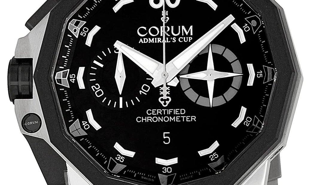 Corum 50 Lhs Admiral's Cup Chronograph 753.231.06/0371-AN12